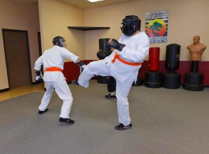 Karate Sparring in Mission Viejo