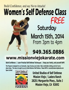 karate self defense seminar